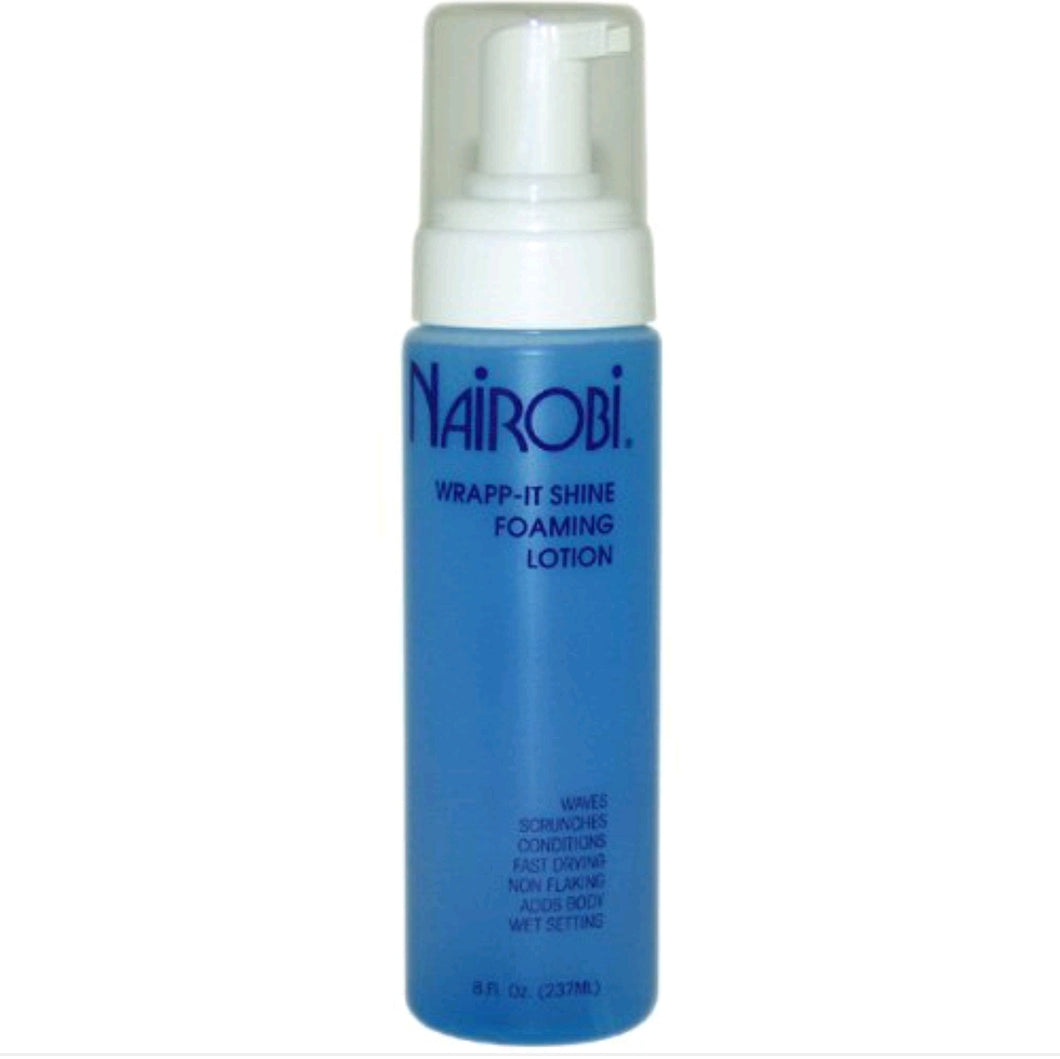 Nairobi Wrap-It Shine Foaming Lotion