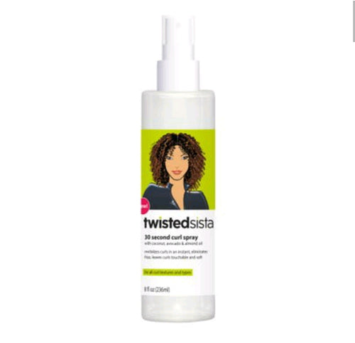 Twisted Sista 30-Second Curl Spray