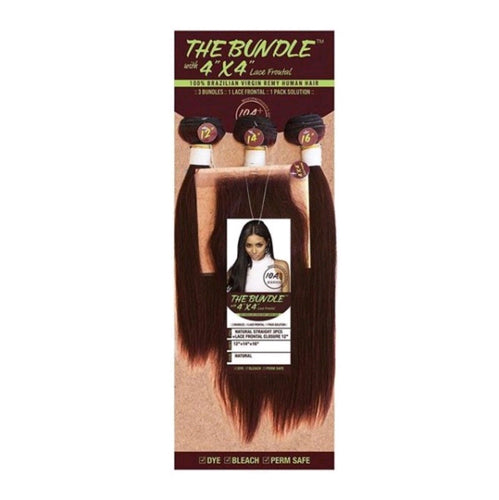 The Bundle w/4X4 Lace Closure