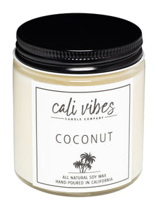 Coconut - Natural Soy Wax Candle