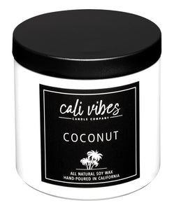 Coconut - 13oz Natural Soy Wax Candle