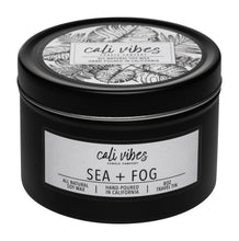 Load image into Gallery viewer, Sea + Fog - 8oz Travel Tin
