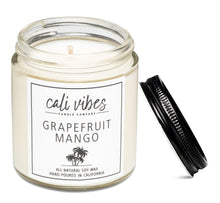 Load image into Gallery viewer, Grapefruit Mango - Natural Soy Wax Candle