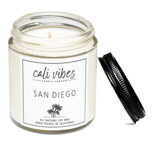 San Diego - Natural Soy Wax Candle