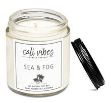 Load image into Gallery viewer, Sea + Fog - Natural Soy Wax Candle