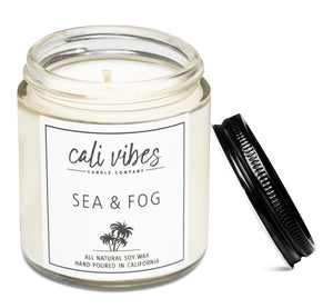 Sea + Fog - Natural Soy Wax Candle
