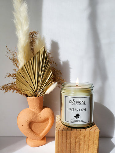 Lovers Cove - 9oz Soy Wax Candle