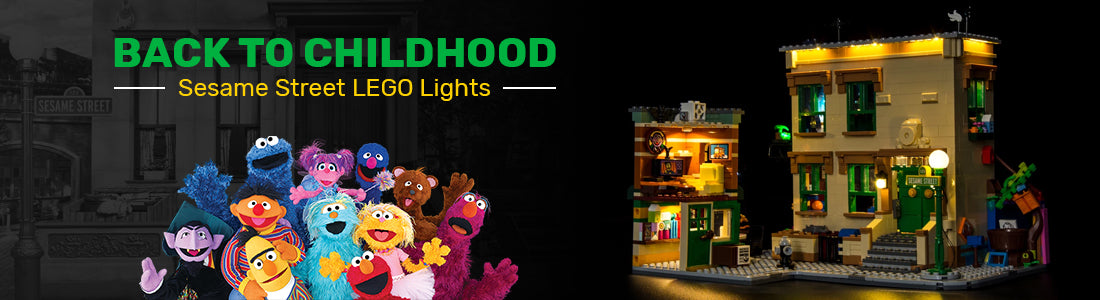 LEGO 123 Sesame Street 21324 Light Kit