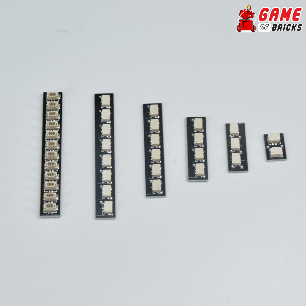 Game of Bricks Expansion Boards for Lights and LEGO