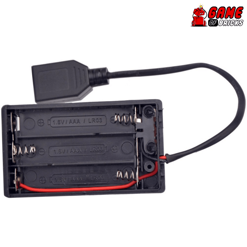 Game of Bricks Battery Box for LED Light Kits and LEGO