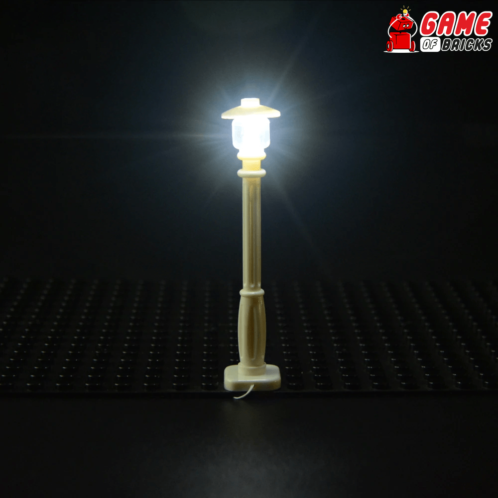 LED Lamp Post for LEGO