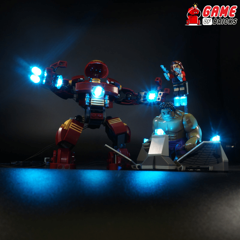 LEGO 76031 The Hulk Buster Smash Light Kit