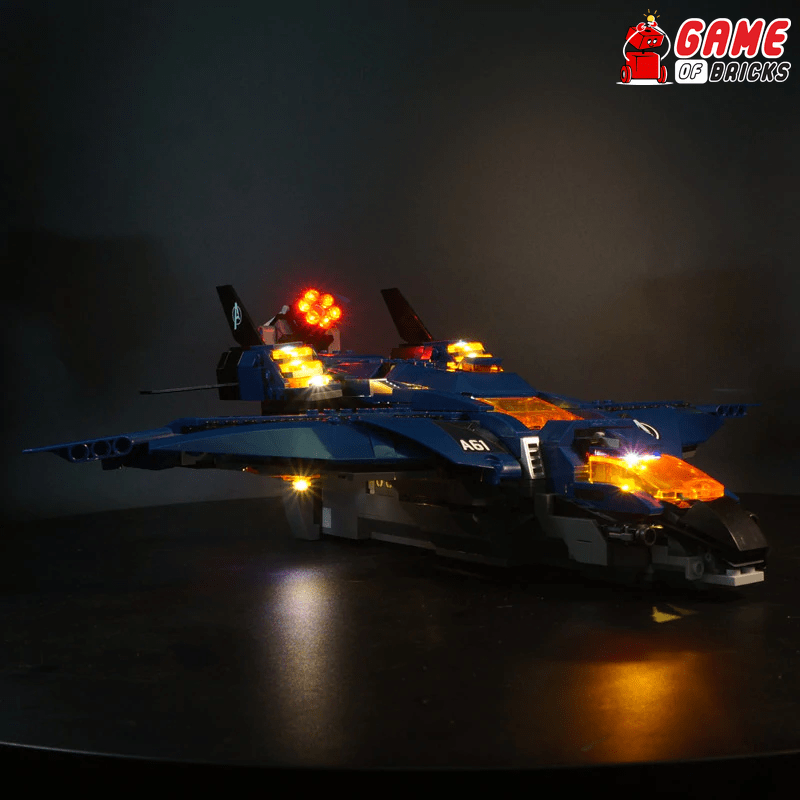 LEGO Avengers Ultimate Quinjet 76126 Light Kit