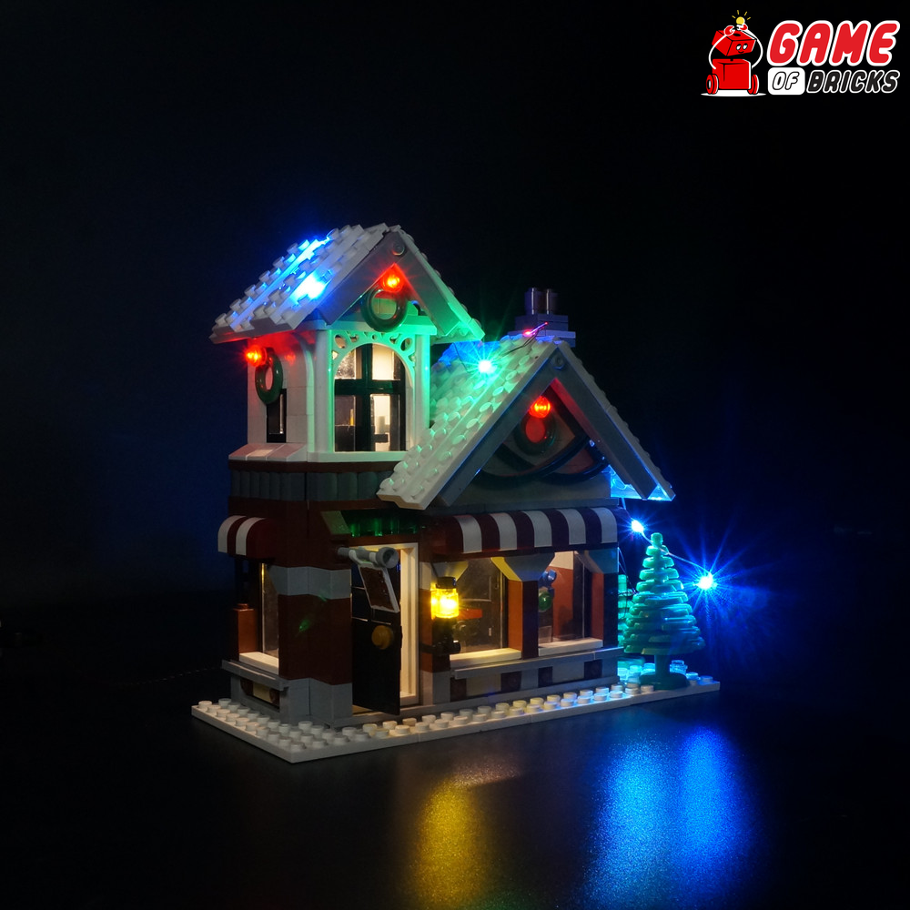 LEGO 10249 Winter Toy Shop Light Kit