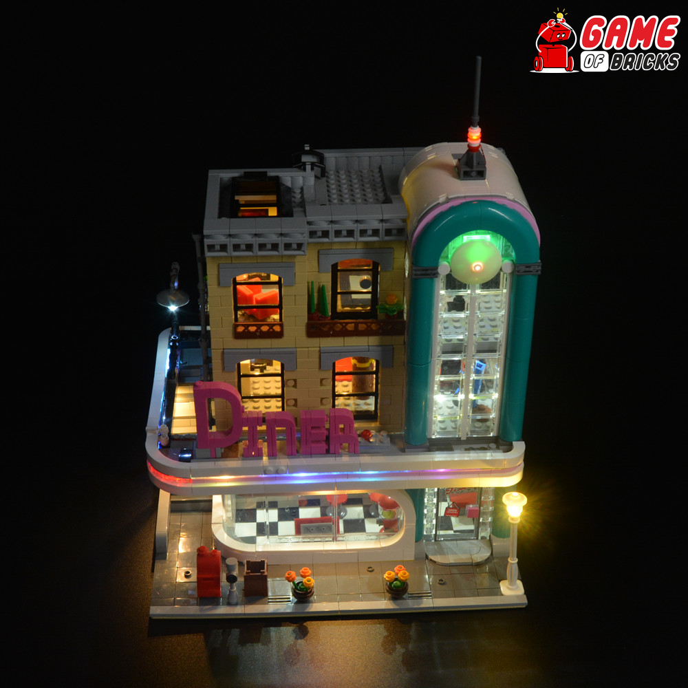 LEGO 10260 Downtown Diner Light Kit