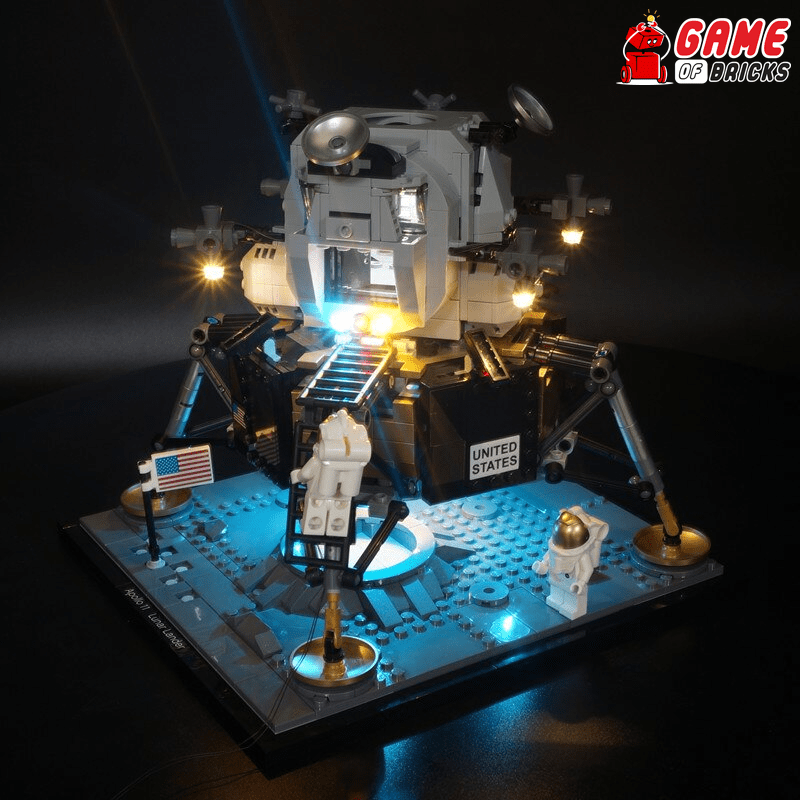 LEGO NASA Apollo 11 Lunar Lander 10266 Light Kit