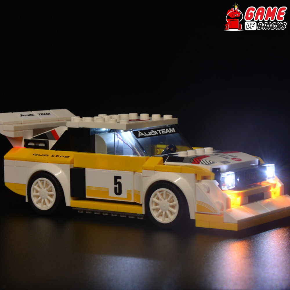 LEGO Audi Sport quattro S1 76897 Light Kit