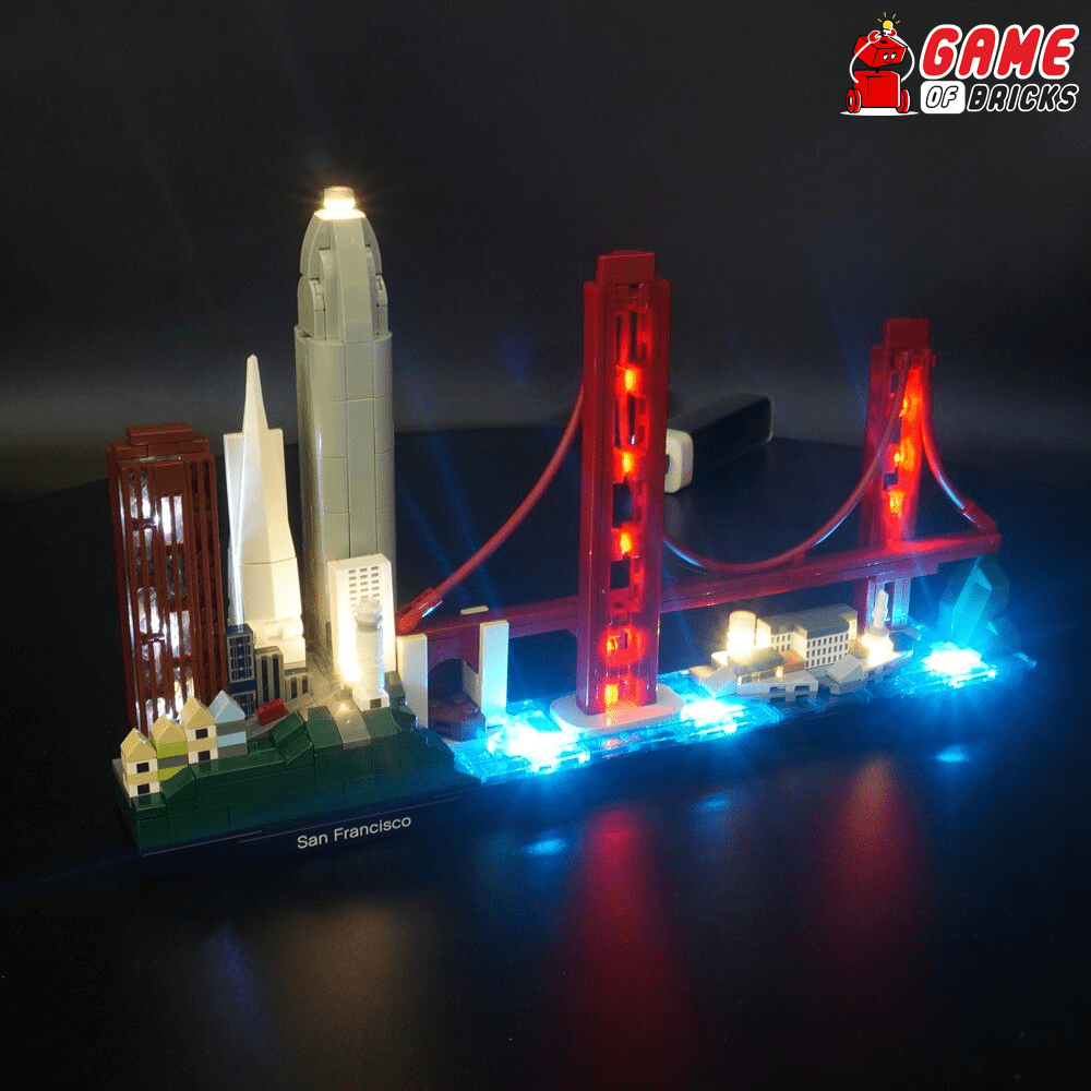 LEGO San Francisco 21043 Light Kit