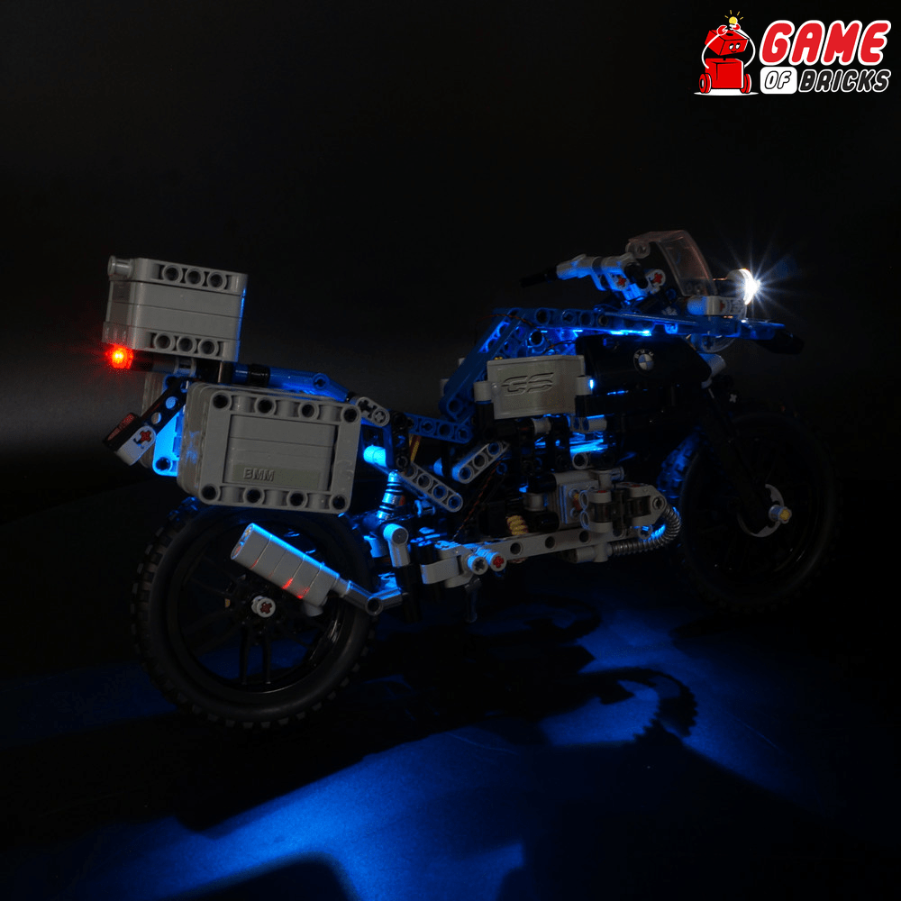 LEGO 42063 BMW R 1200 GS Adventure Light Kit