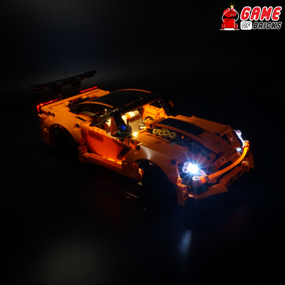 LEGO 42093 Chevrolet Corvette ZR1 Light Kit