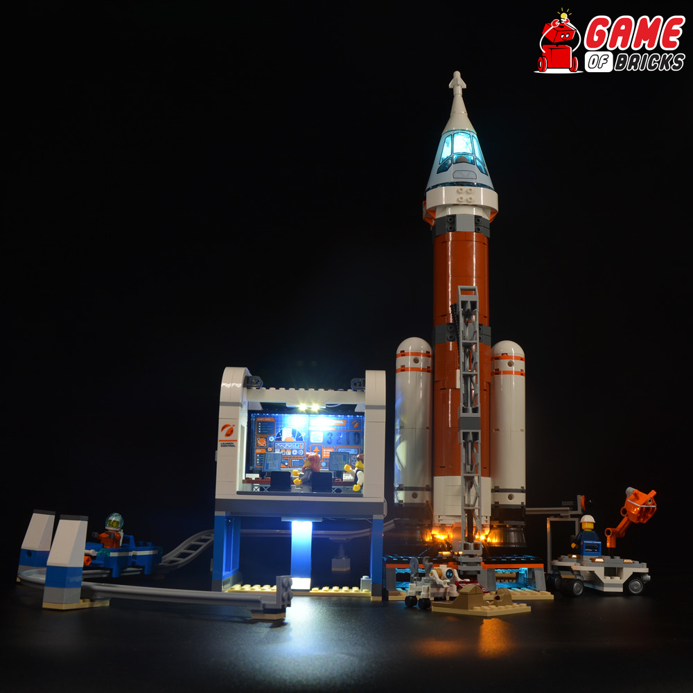 LEGO 60228 Deep Space Rocket and Launch Control Light Kit
