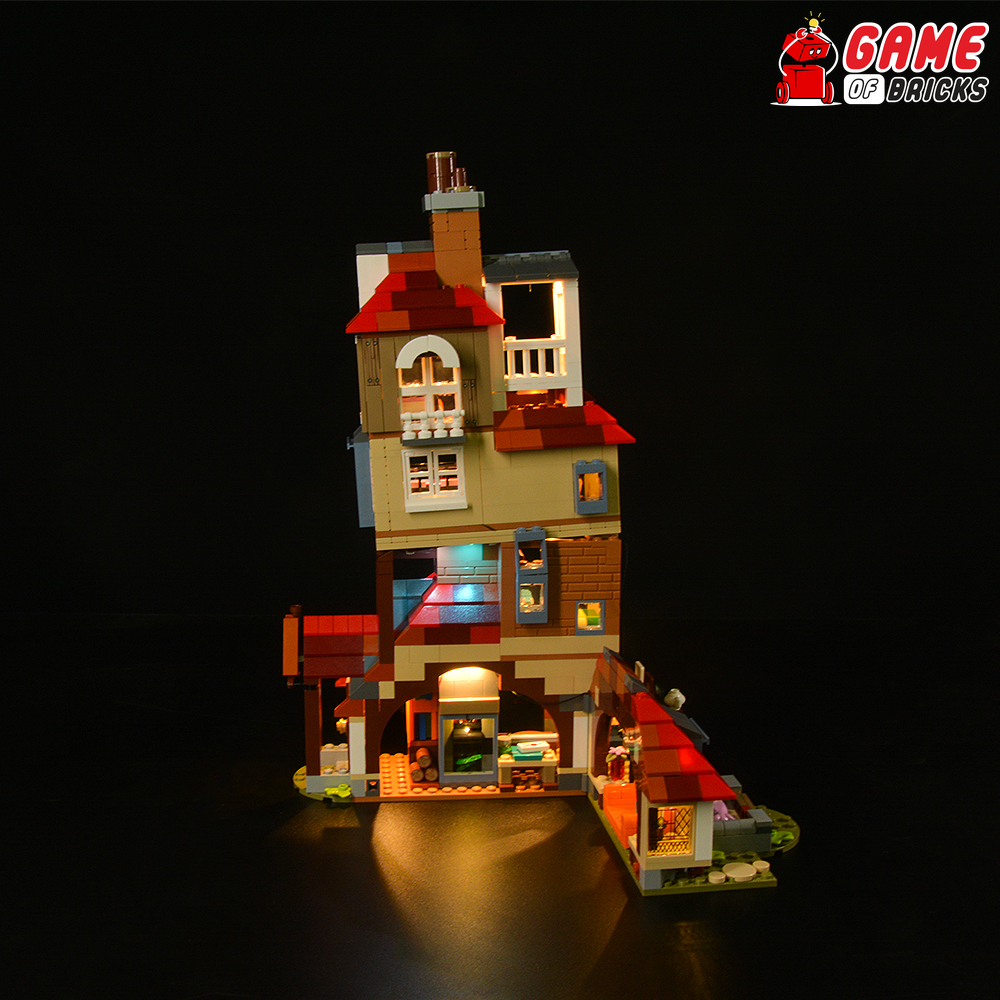 LEGO Attack on the Burrow 75980 Light Kit