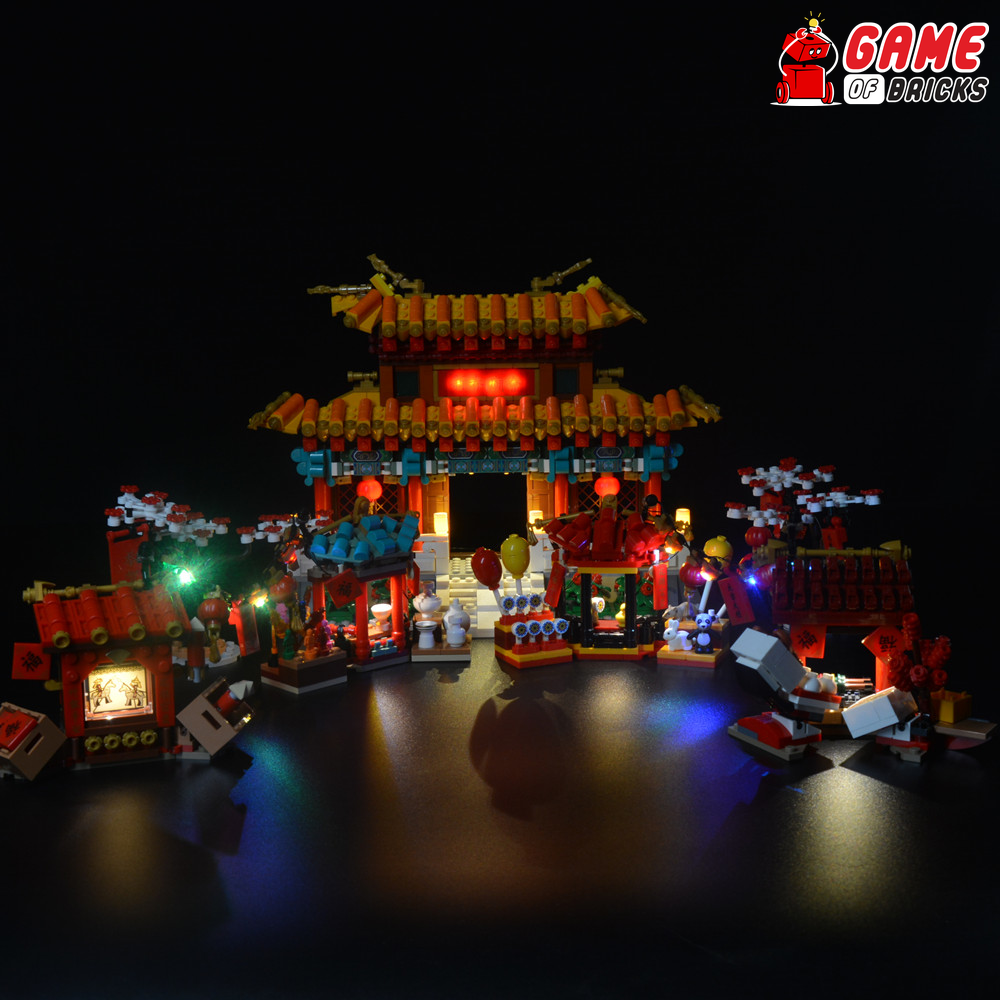 LEGO Chinese New Year Temple Fair 80105 Light Kit