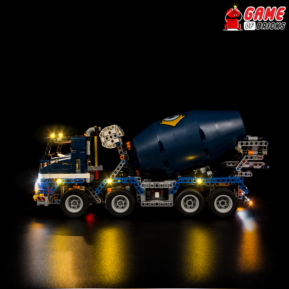 LEGO Concrete Mixer Truck 42112 Light Kit