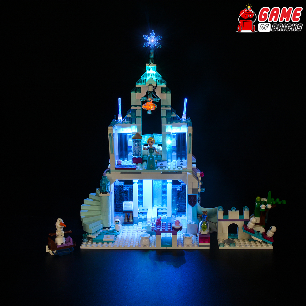 LEGO Elsa's Magical Ice Palace 43172 Light Kit