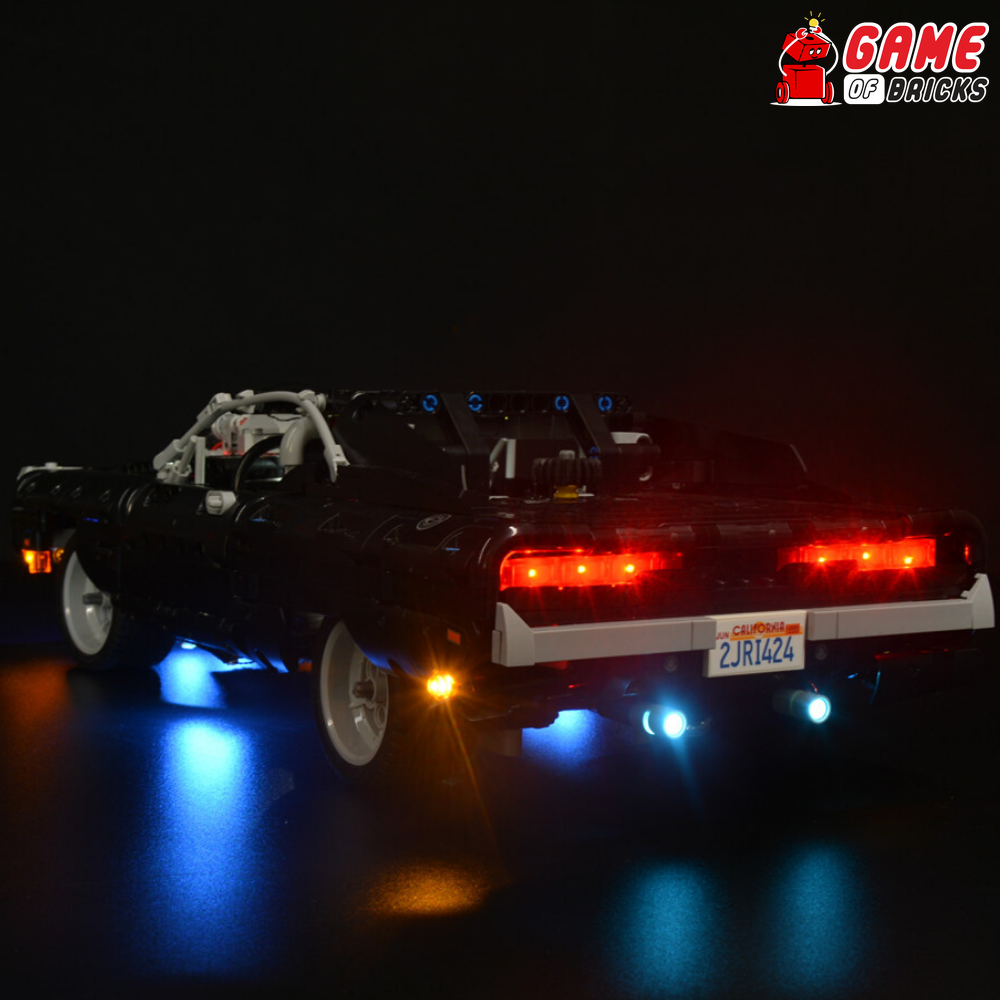 LEGO Fast and Furious Dom's Dodge Charger 42111 Light Kit