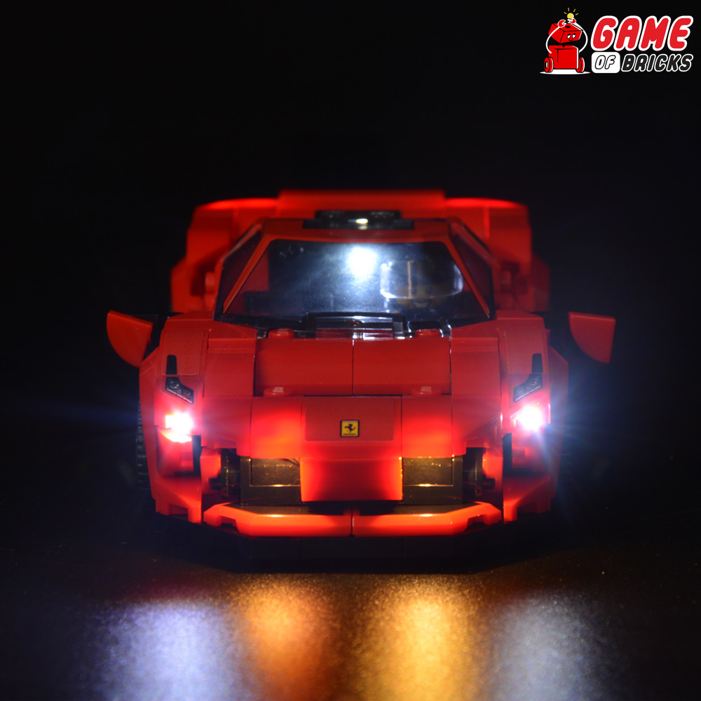 LEGO Ferrari F8 Tributo 76895 Light Kit