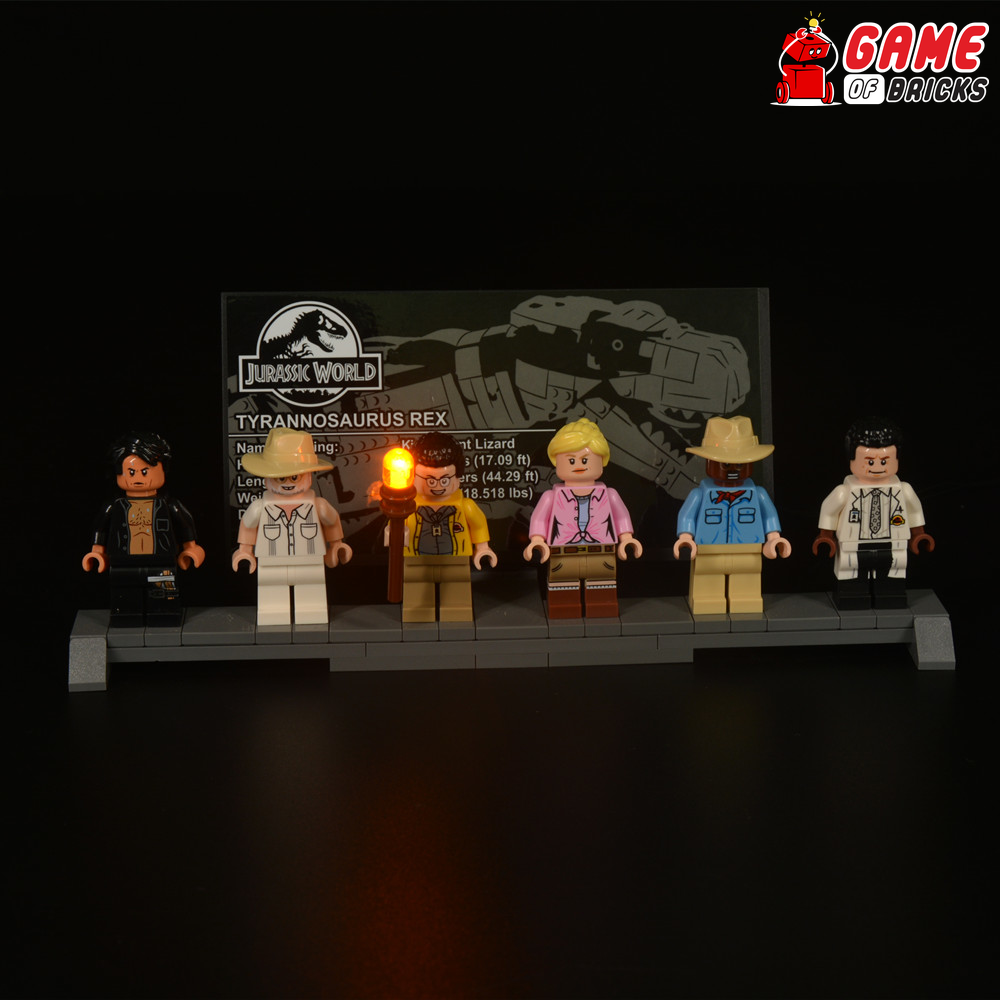 LEGO T. rex Jurassic Park Light Kit
