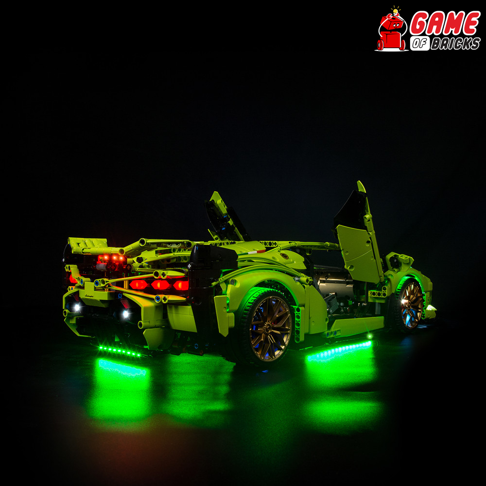 LEGO Lamborghini Sián FKP 37 42115 Light Kit