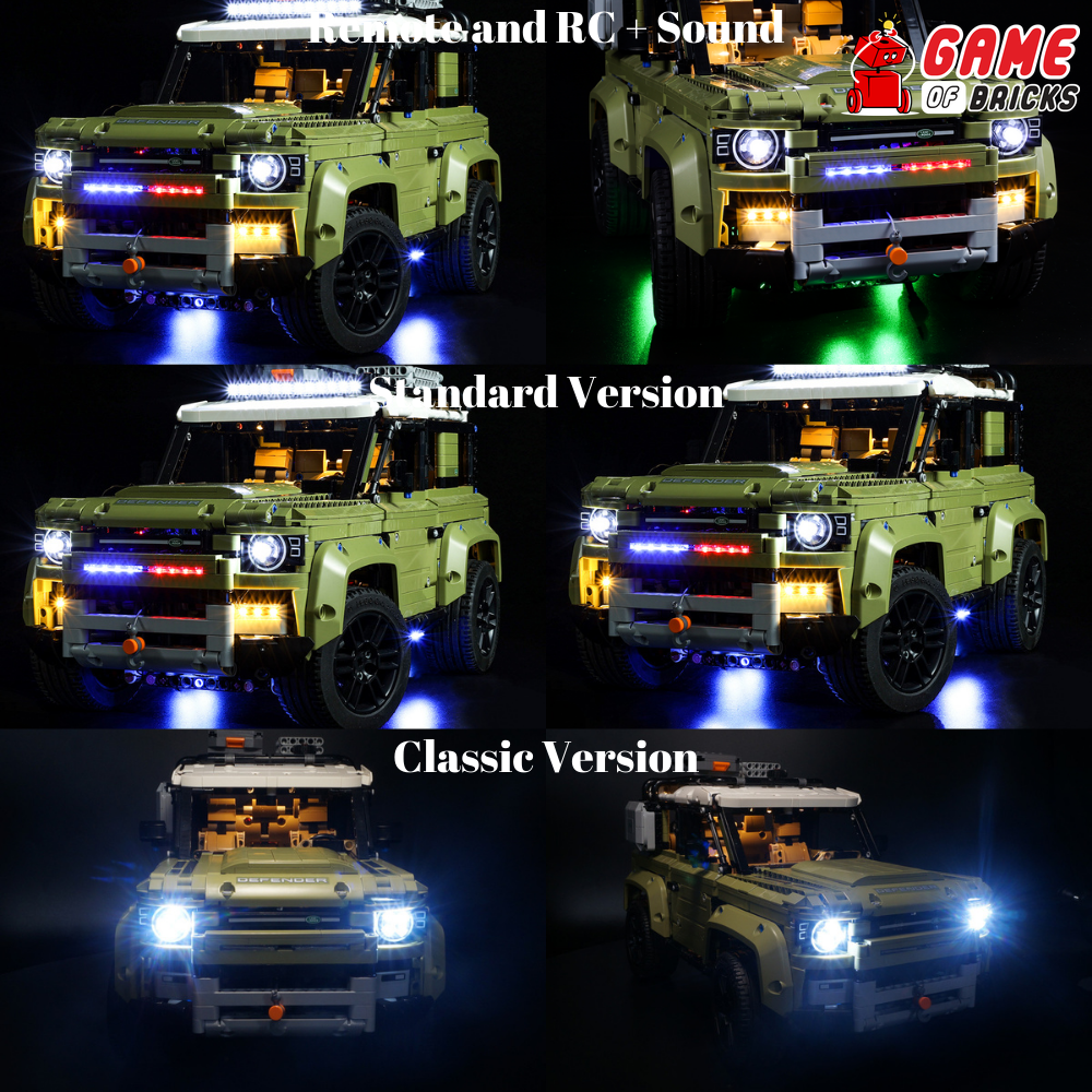 LEGO Land Rover Defender 42110 Light Kit