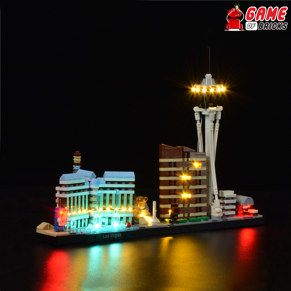 LEGO Las Vegas 21047 Light Kit