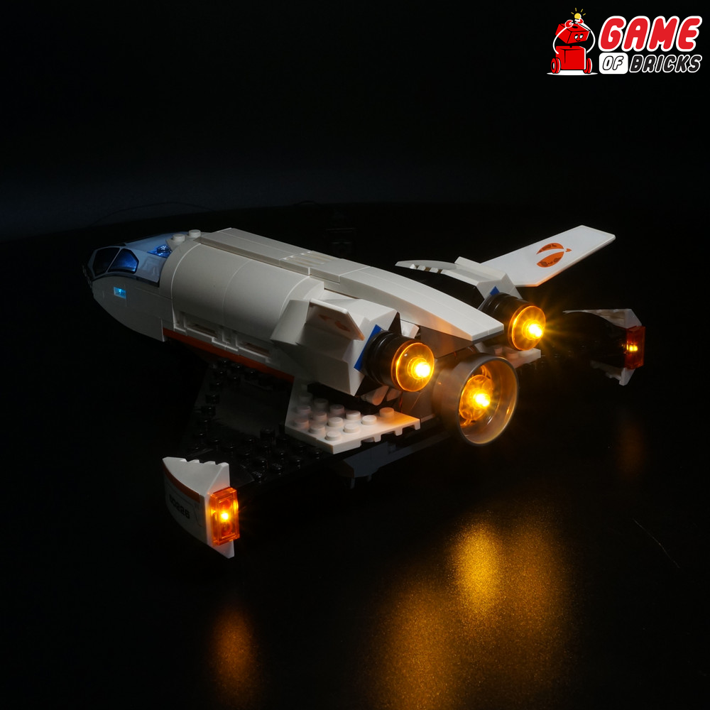 LEGO Mars Research Shuttle 60226 Light Kit