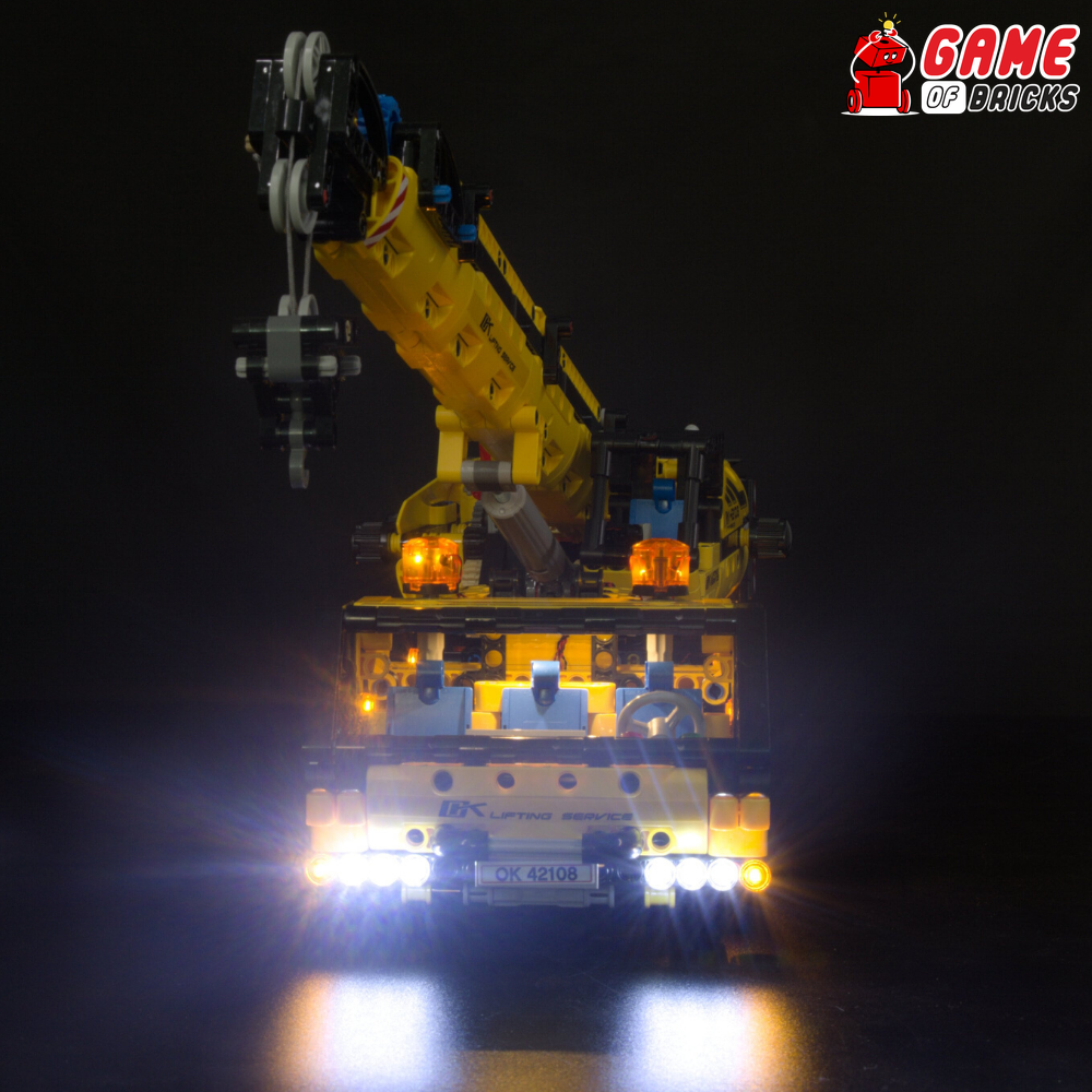 LEGO Mobile Crane 42108 Light Kit