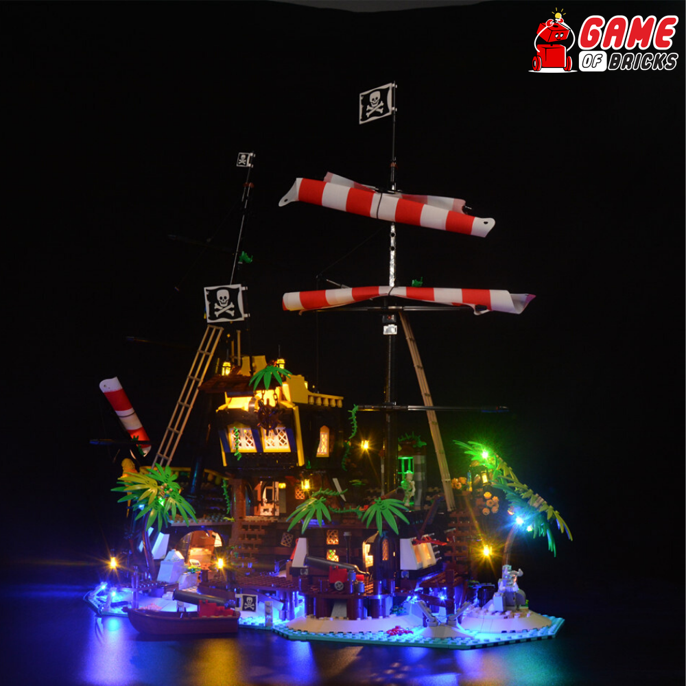 LEGO Pirates of Barracuda Bay 21322 Light Kit