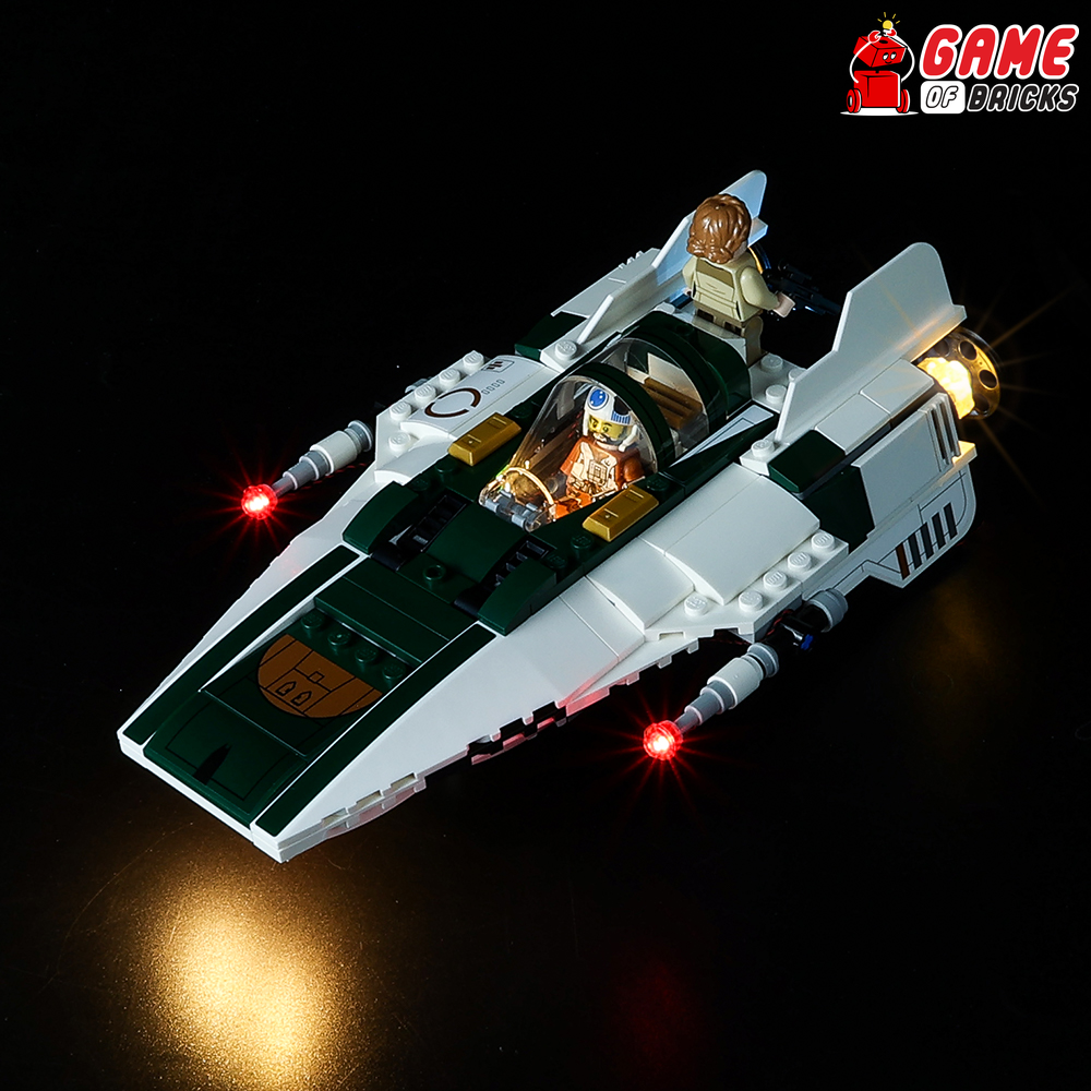 LEGO Resistance A-Wing Starfighter 75248 Light Kit