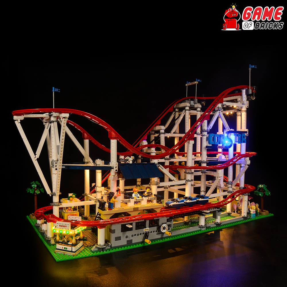LEGO Roller Coaster 10261 Light Kit