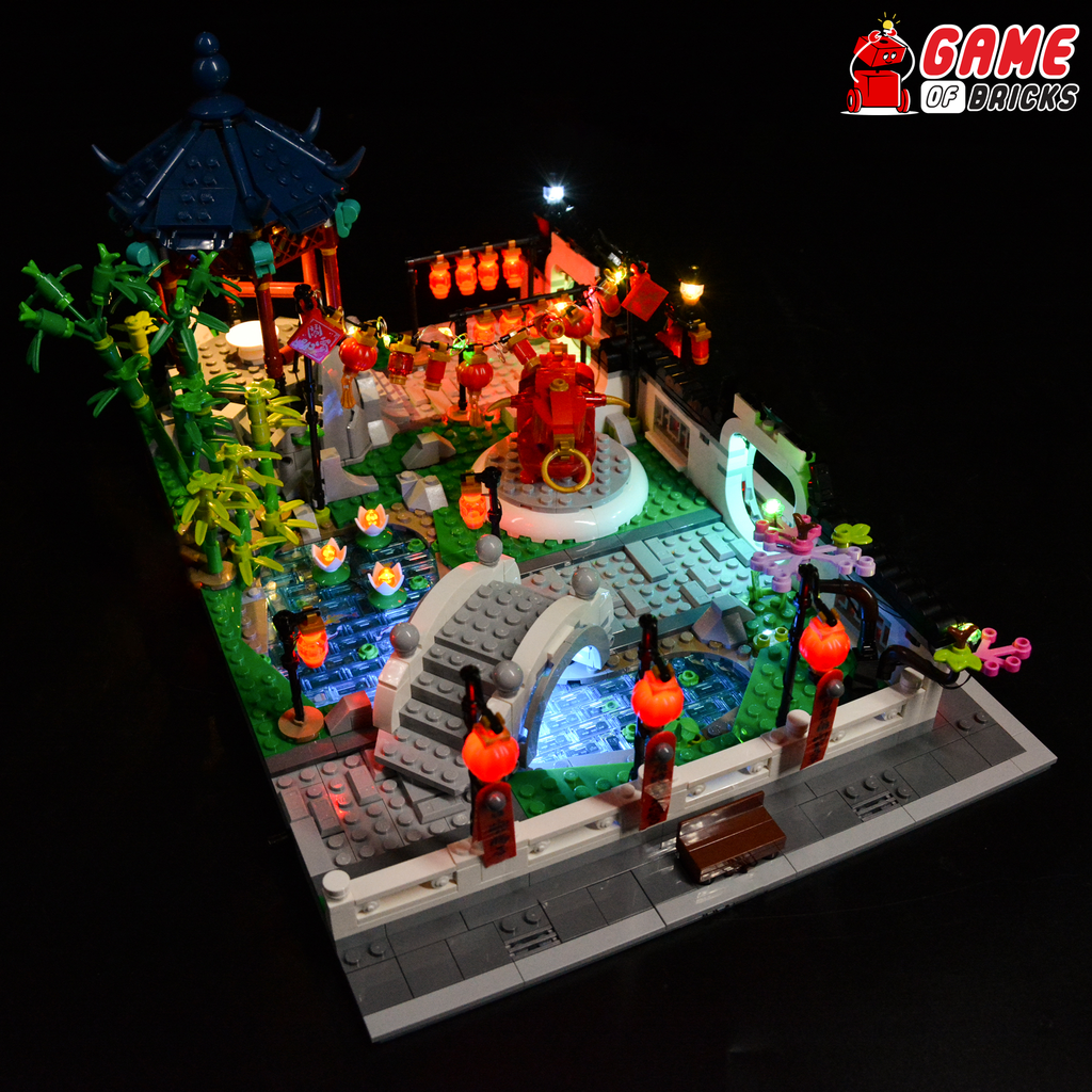 LEGO Spring Lantern Festival 80107 Light Kit