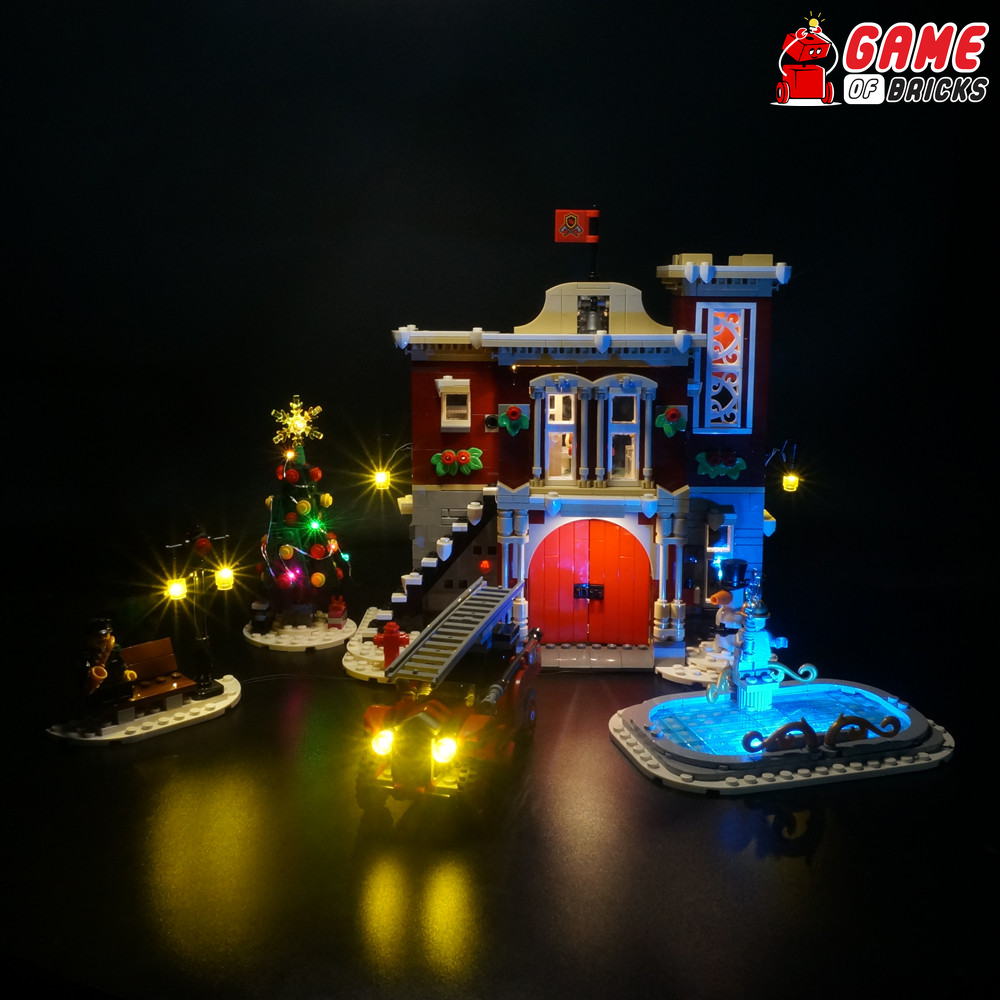 LEGO Winter Village Fire Station 10263 Light Kit