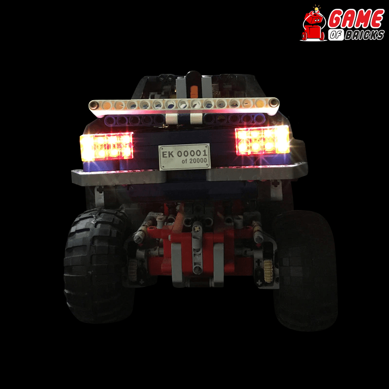 LEGO 41999 Crawler 4 x 4 Exclusive Edition Light Kit