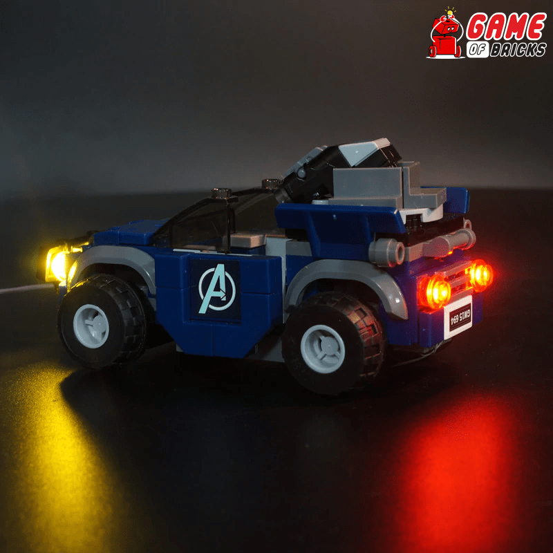 LEGO Avengers Compound Battle 76131 Light Kit