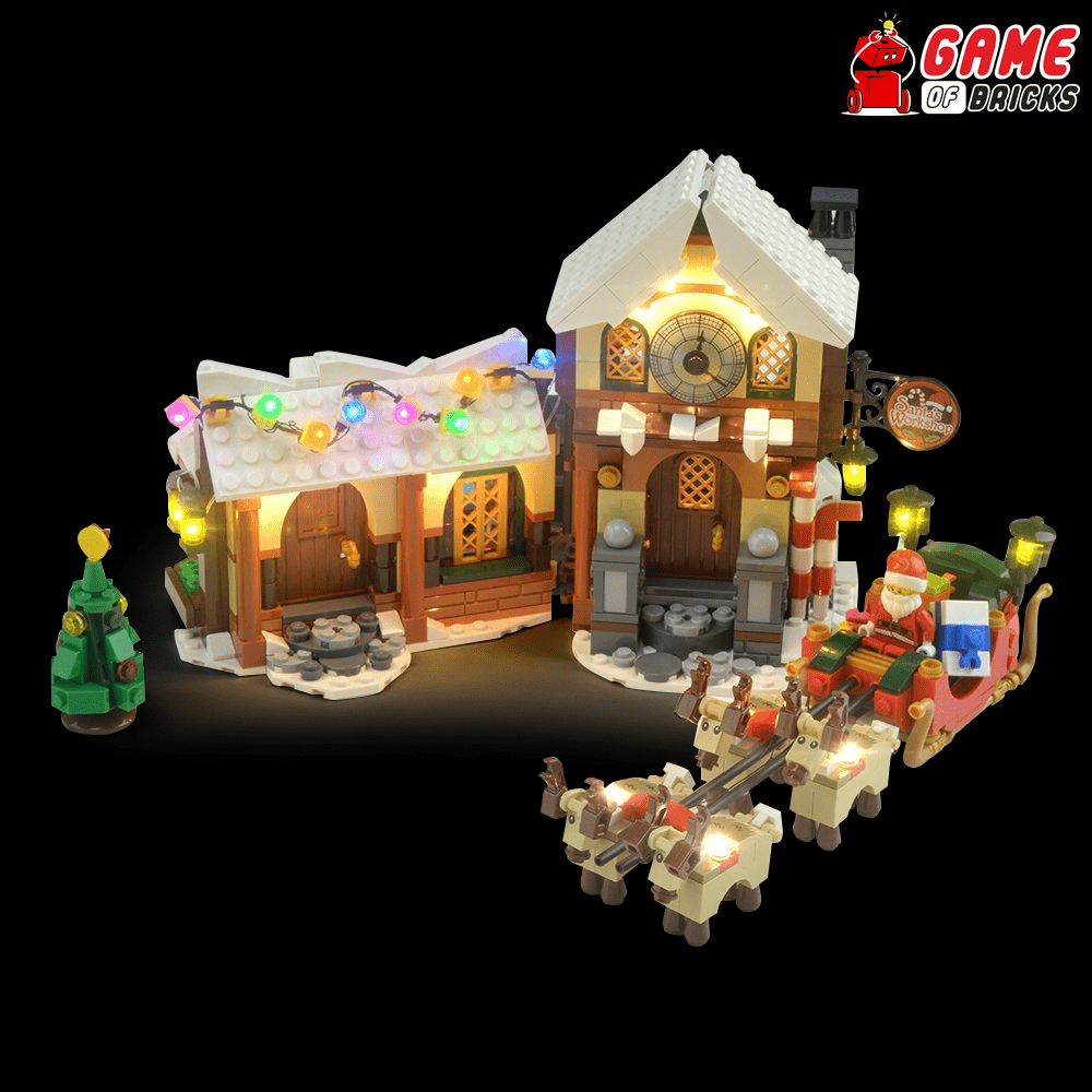 LEGO 10245 Santas Workshop Light Kit