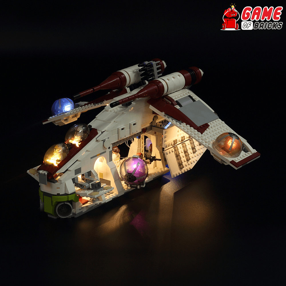 LEGO Republic Gunship 75021 Light Kit