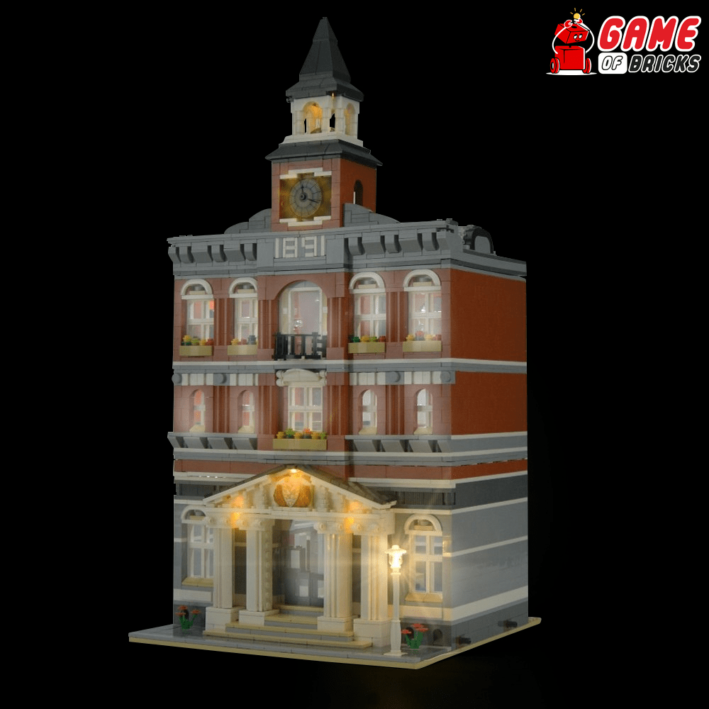 LEGO Town Hall 10224 Light Kit
