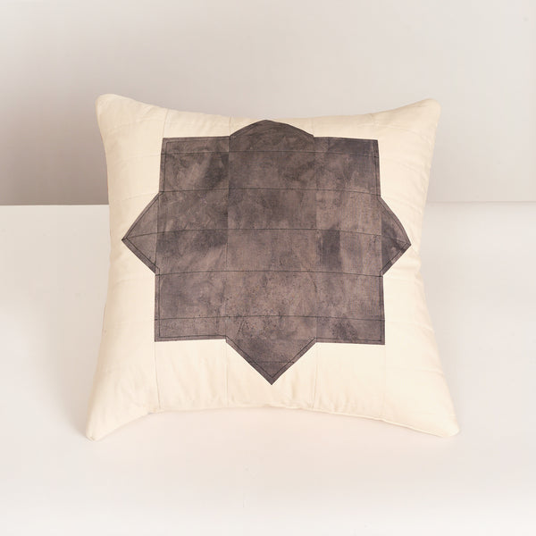 Ray Quilts for Field Guide Black Star Pillow - Field Guide