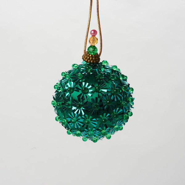 Vintage Green Ornament - Field Guide