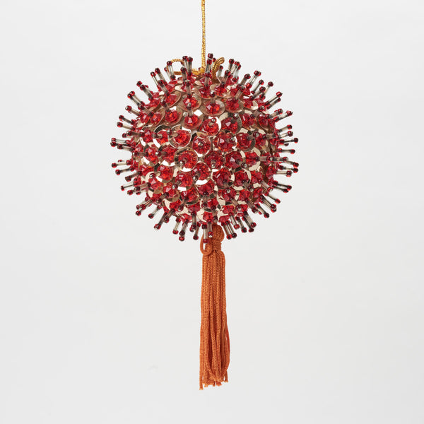Vintage Red Ornament - Field Guide